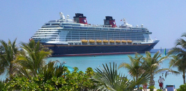 Disney Cruises ship