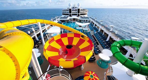 Disney Cruises waterslide