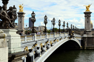 Paris Mont Alexander Bridge