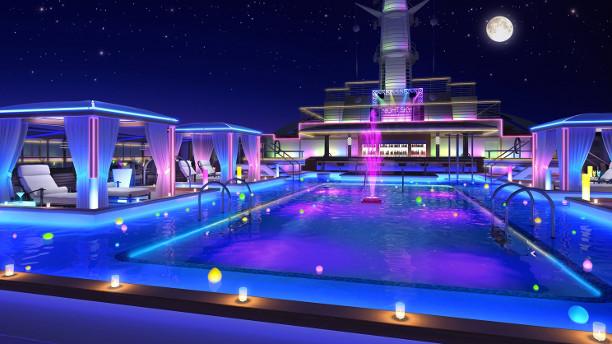 Princess Cruises pool