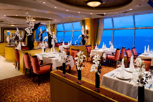 Dining on Royal Caribbean