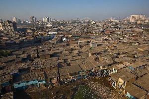 Mumbai Dharavi Slums